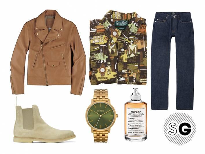suede chelsea boots, maison margiela, apc, gitman vintage, common projects, nixon, unionmade, golden bear