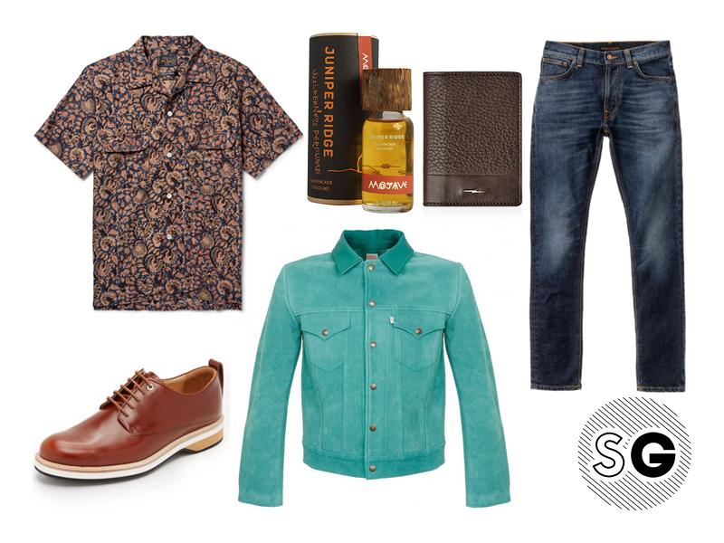 suede jacket, suede, beams plus, nudie jeans, want les essentiels, juniper ridge, shinola, levis