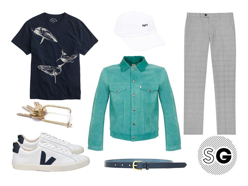 suede jacket, suede, outerwear, veja, levi's, obey, j.crew, maximum henry, reiss