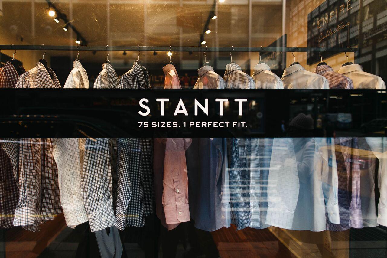 stantt, stantt shirts, stantt showroom