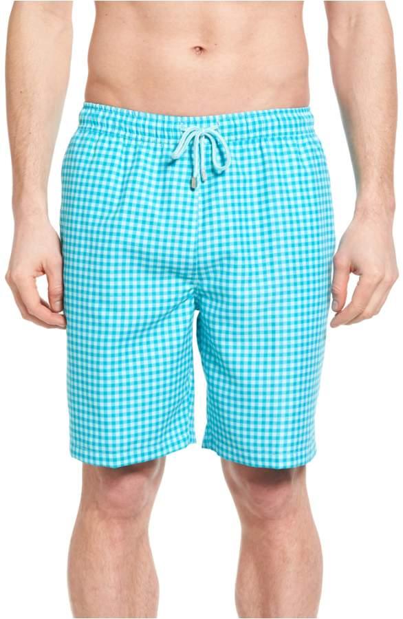 peter millar gingham print bathing suit, what women want