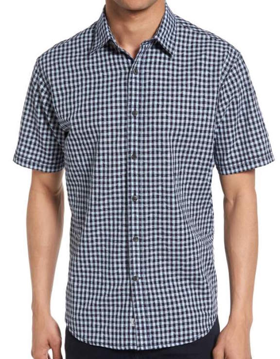 james campbell button down, gingham print, what women want