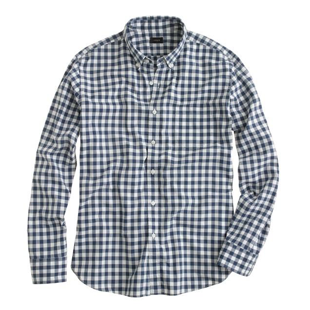 gingham print shirt, what women want, j crew