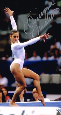 Dominique Moceanu of the '96 Olympic Gymnastics team, real guy style, reader spotlight