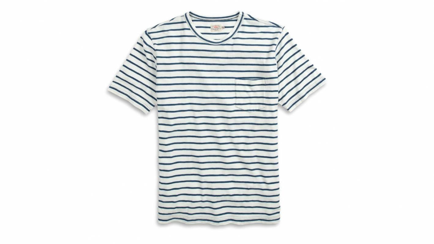 faherty breton stripe tshirt