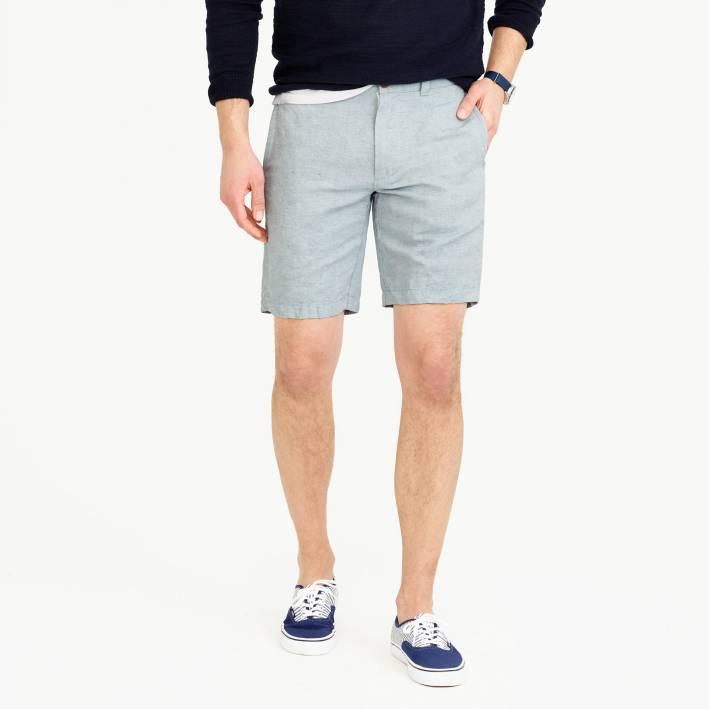 linen shorts, shorts, linen, j.crew, summer style