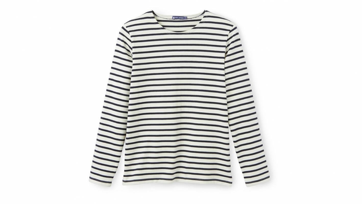 petit bateau breton stripes shirt mens