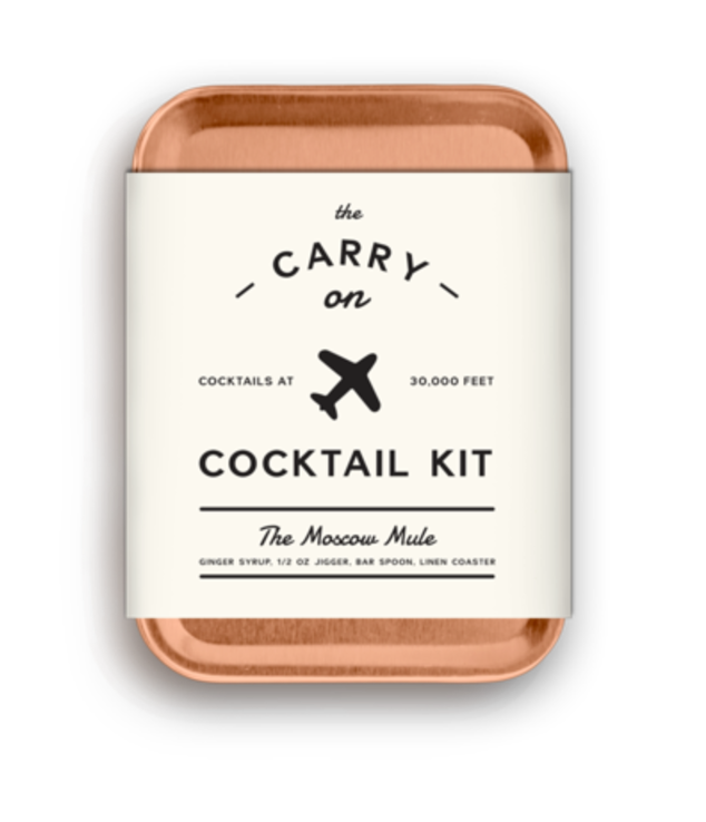 travel essentials, what to pack, travel essentials for men, cocktail kit, carry on, drinking