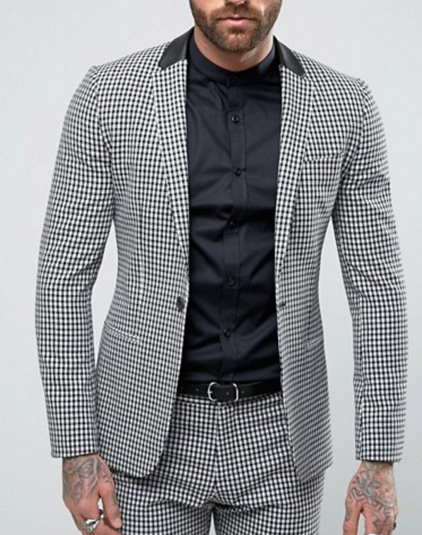 ASOS, gingham print suit, what women want