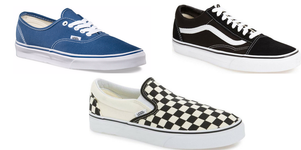 vans, authentic, check, summer date style, summer date