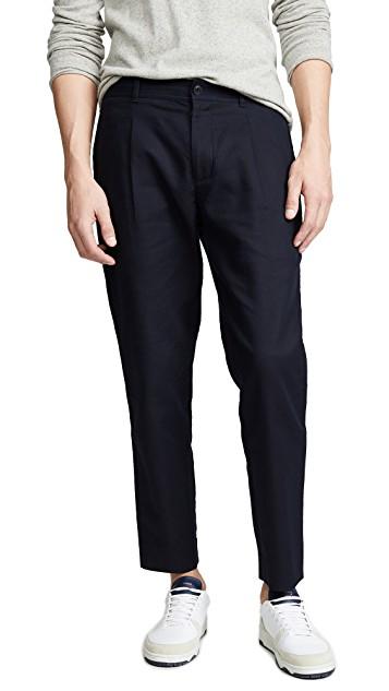 club monaco cropped citee trousers