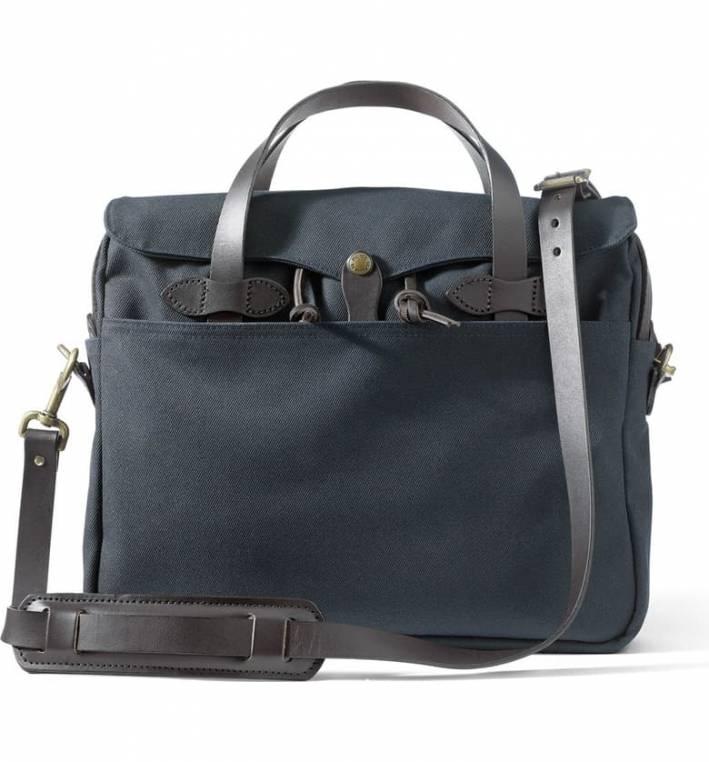 filson original briefcase in twill