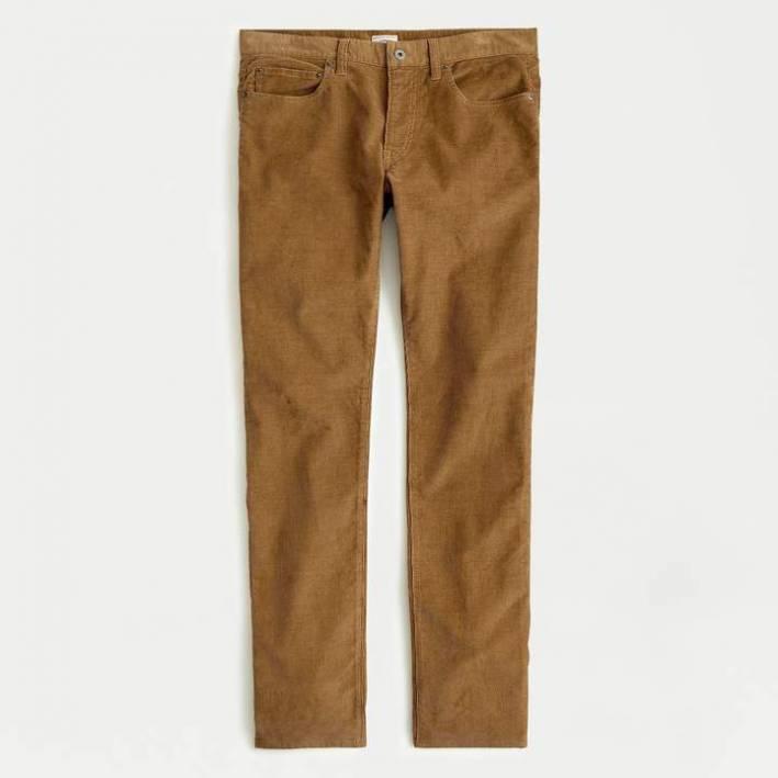 j.crew 5-pocket corduroy pants