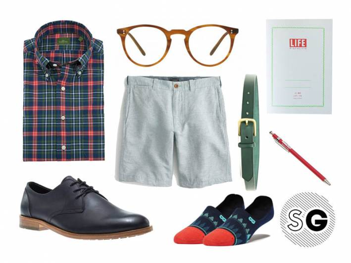 linen shorts, sid mashburn, oliver peoples, wolverine, pair of thieves, j.crew, maximum henry, life, delfonics