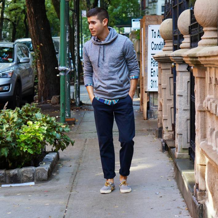 saul carrasco from trend styled in an easy travel look