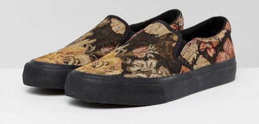 asos, slip-ons, slip-on sneakers