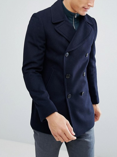 peacoat, asos, winter style, winter coat, cold weather style