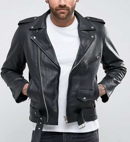 leather jacket, asos, outerwear