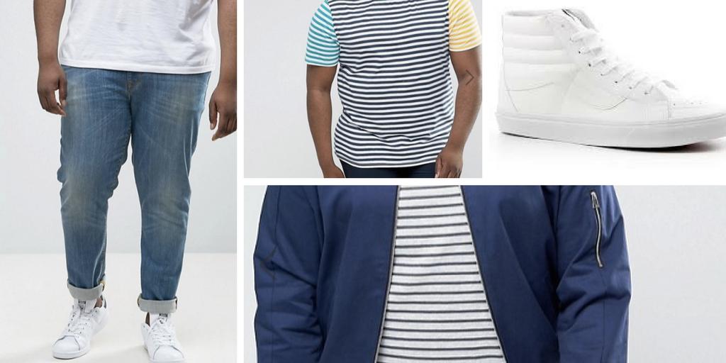 asos plus size men's fashion