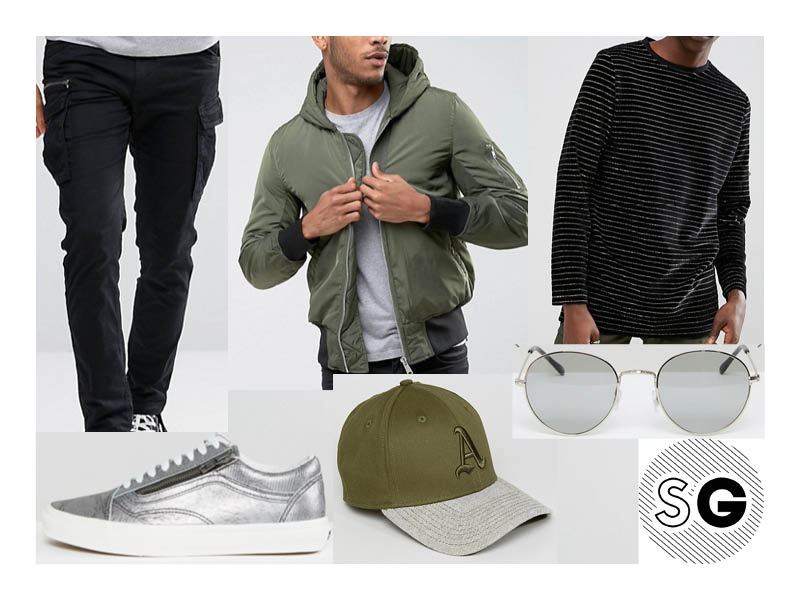 hooded bomber, asos, back to school