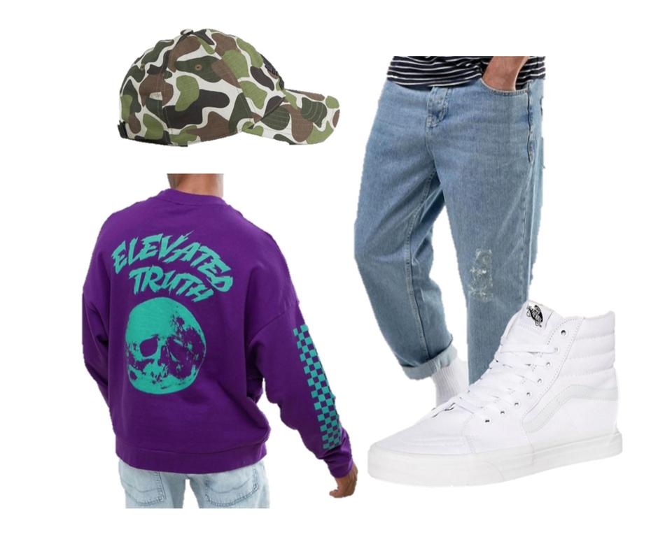 asos, skater style