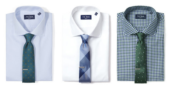 pairing shirts with ties