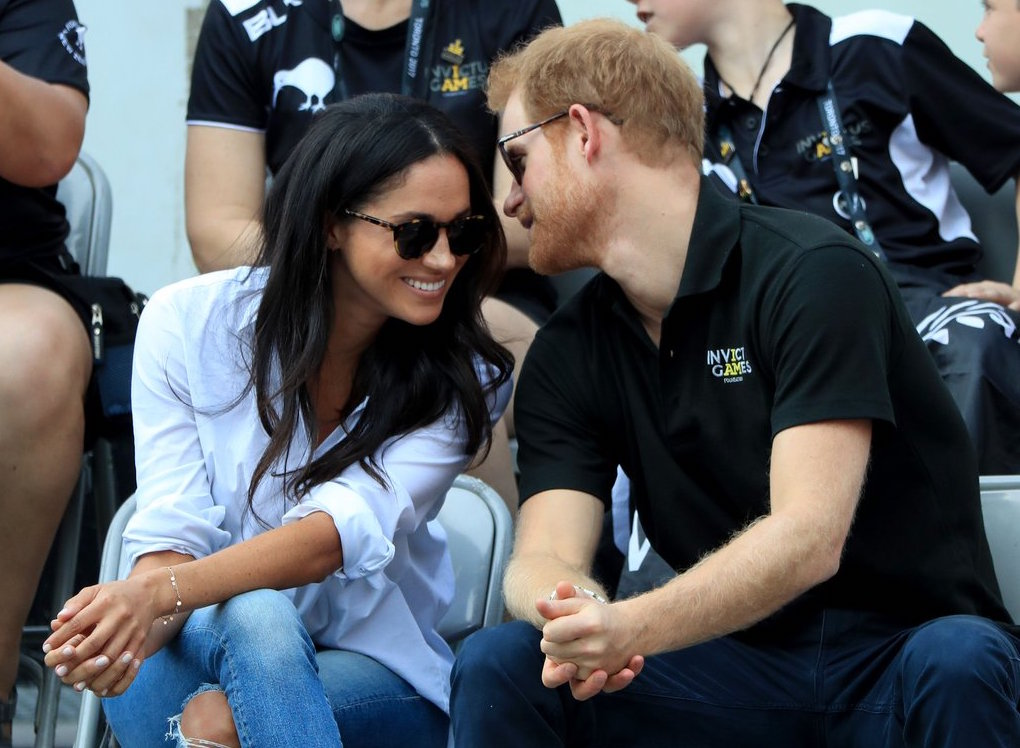 Prince Harry and Meghan Markle looking so-o-o-o-o happy (and I'm happy for them!)