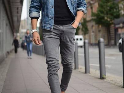 Women Want to See You Wearing: Grey Jeans