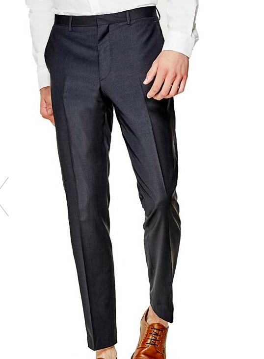 guess sloane skinny suit pants