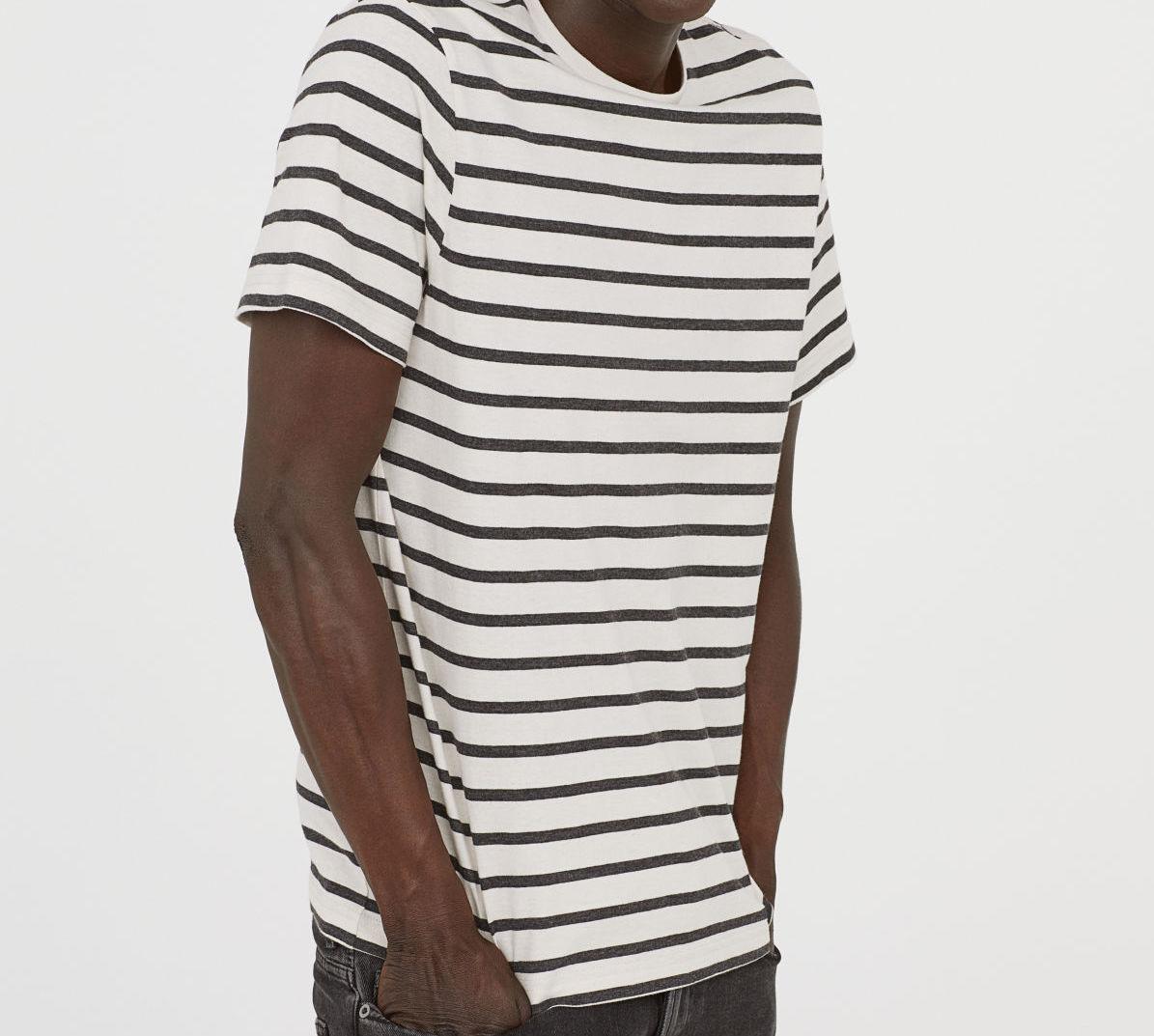 hm striped tshirt