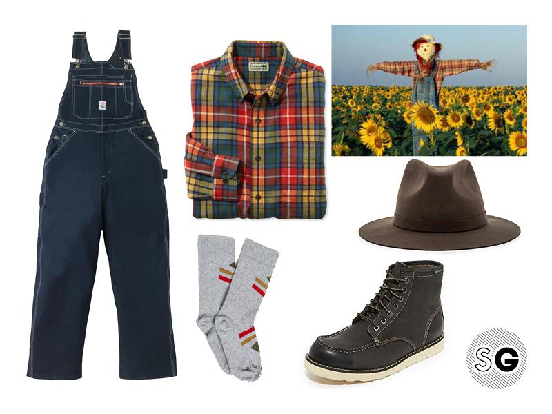 overalls, scarecrow, halloween, costume ideas, halloween costume