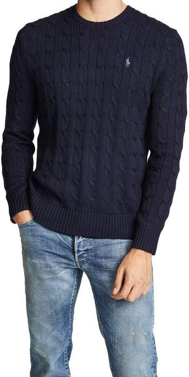 polo ralph lauren navy sweater