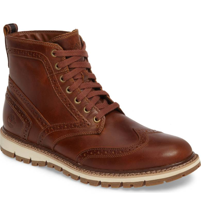 timberland britton hill wingtip boots