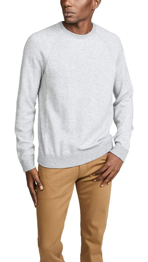 vince grey sweater