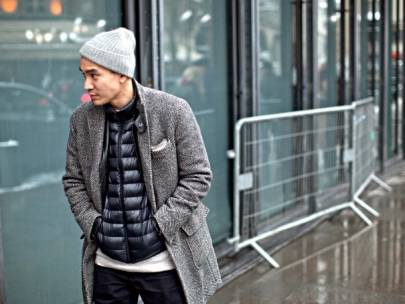How to Wear a Puffer Coat Three Ways