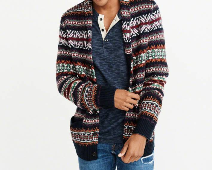 abercrombie fitch cardigan