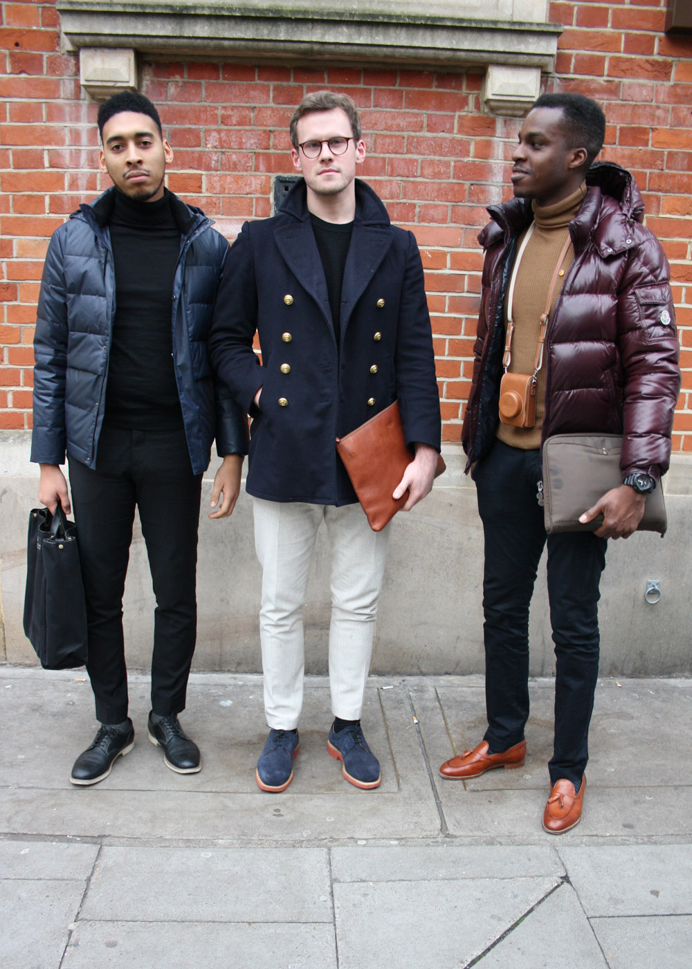how to wear a men's puffer coat