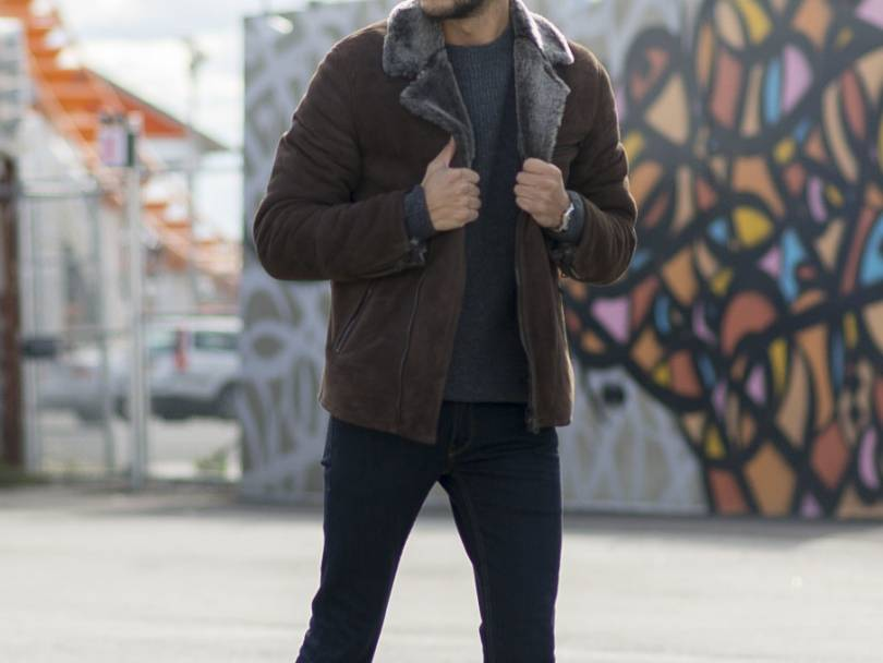 5 Days, 5 Ways: How to Wear a Shearling Jacket