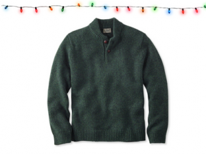 12 days of sg faves, men's winter sweaters, giveaway, llbean