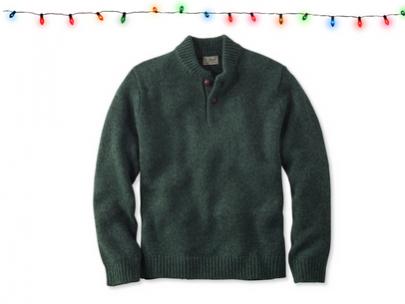 Cop The Coziest Men's Winter Sweaters: L.L. Bean