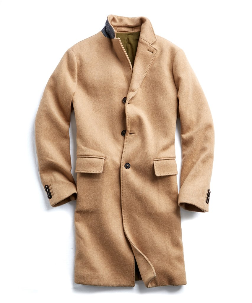 todd snyder camel topcoat