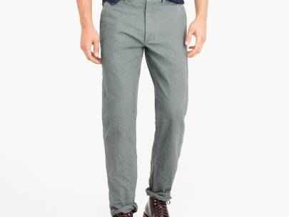Men's Wardrobe Essential: 5-Pocket Twill Pants