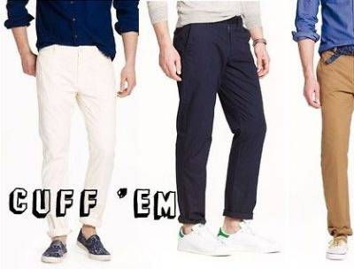Style Check-In: <br> Do you Cuff Your Chinos?