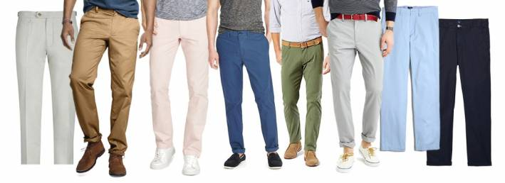 wardrobe essentials chinos