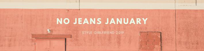 style girlfriend no jeans january 2019