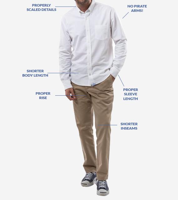 style tips short guys