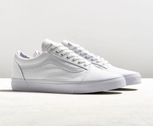 white vans sneakers