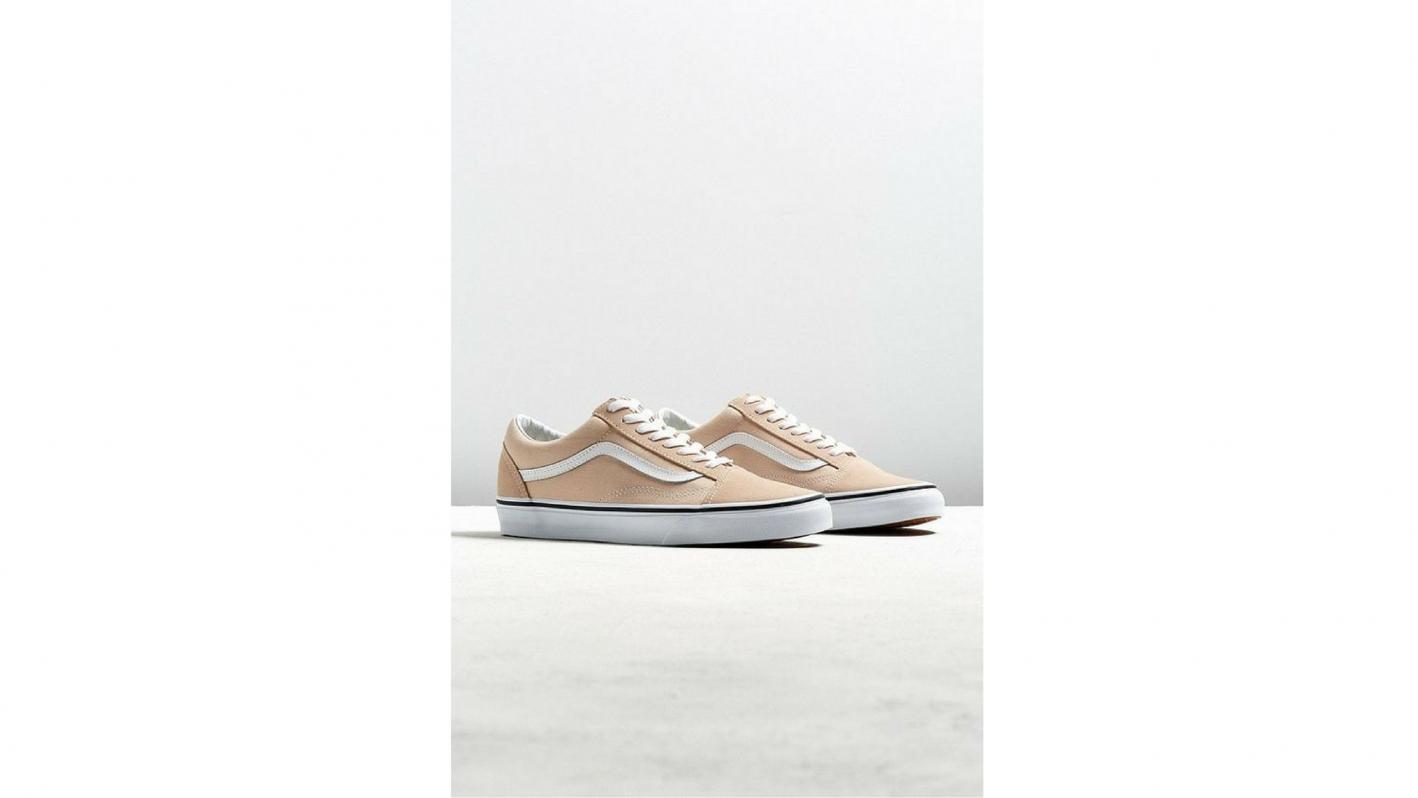 vans old skool pink sneakers