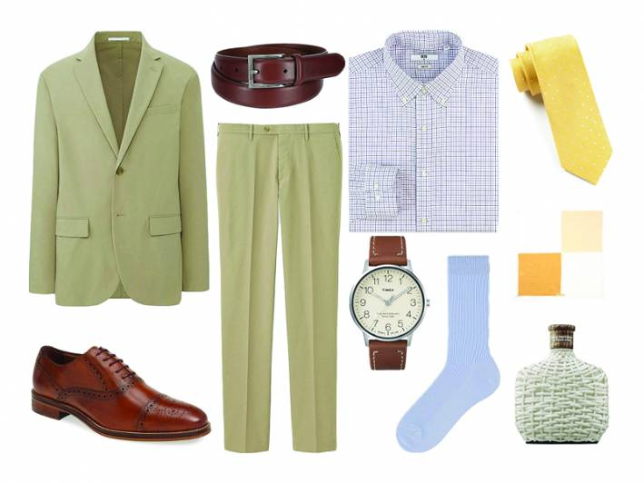 how to wear lavender