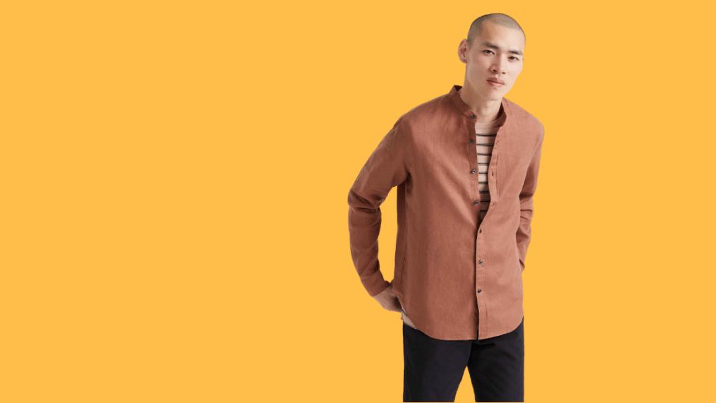 how to wear a linen shirt